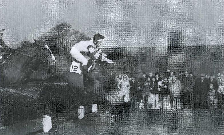 Martin Pipe records his sole success aboard Weather Permitting in 1975